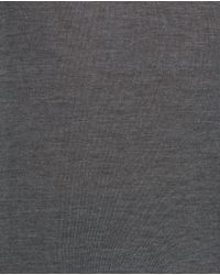 Zara | Gray Knit Polo Shirt for Men | Lyst