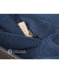 Louis Vuitton - Pre-Owned Celeste Blue Eden Pm Bag - Lyst