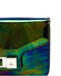 Proenza Schouler Multicolor Oil Slick Ps11 Mini Clutch Bag