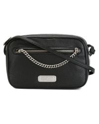 Marc By Marc Jacobs - Black Sally Chain Leather Cross-Body Bag - Lyst