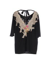 Raffaela D'angelo - Black T-shirt - Lyst