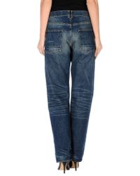Golden Goose Deluxe Brand - Blue Denim Trousers - Lyst