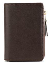 Comme des Garçons - Brown Classic Wallet for Men - Lyst