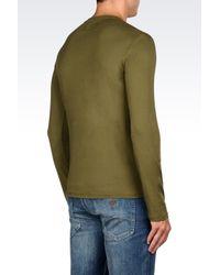Armani Jeans   Green Print T-shirt for Men   Lyst