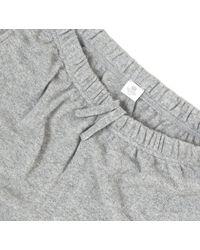 Sunspel Gray Men's Cashmere Track Pant for men