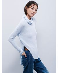 Free People | Blue We The Free Kristina Thermal | Lyst