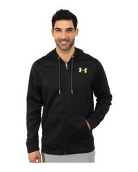 Under Armour - Black Ua Storm Armour® Fleece Zip Hoodie for Men - Lyst