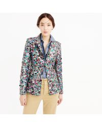 J.Crew | Multicolor Collection Sequin Blazer | Lyst