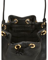 Marc By Marc Jacobs Black Too Hot Too Handle Mini Bucket Bag