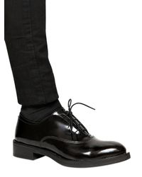 Strategia Black 30Mm Brushed Calf Pointy