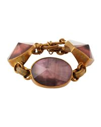 Stephen Dweck - Brown Galactical Mother-of-pearl Bracelet - Lyst