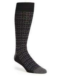 Calibrate Black Dot Socks for men