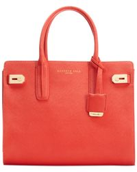Kenneth Cole Red Chrystie Street Satchel