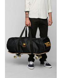 Urban Outfitters Gray Vans Black Label Skateboards Duffle Bag for men