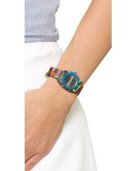 Nixon | Multicolor Small Time Teller Watch - Neo Preen | Lyst