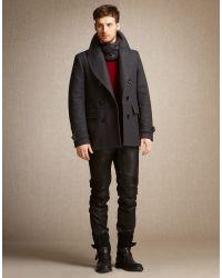 Belstaff Lincefield Jumper In Dark Red Cashmere Blend for men
