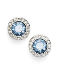 Givenchy | Blue Halo Stud Earrings | Lyst