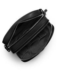 Michael Kors   Black Warren Leather Small Flight Bag for Men   Lyst