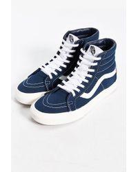 Vans | Blue Sk8-hi Reissue Canvas Sneaker for Men | Lyst