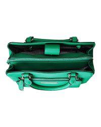 Nine West | Green Zip And Go Medium Satchel | Lyst