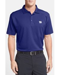 Cutter & Buck | Blue New York Giants - Genre Drytec Moisture-Wicking Polo shirt for Men | Lyst