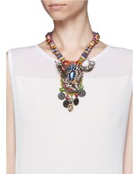 Erickson Beamon | Metallic Fashion Tribe Necklace | Lyst
