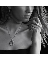 David Yurman - Metallic Willow Medium Pendant Necklace With Diamonds - Lyst