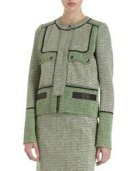 Proenza Schouler - Green Tweed Jacket - Lyst
