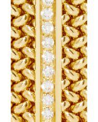 Sidney Garber | Metallic Broad Flexible Cuff | Lyst