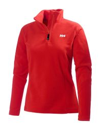 Helly Hansen | Red Daybreaker Quarter-zip Fleece | Lyst