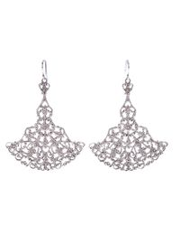 Wouters & Hendrix | Metallic Filigree Chandelier Earrings | Lyst