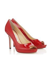 Jimmy Choo | Red Luna | Lyst