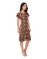 For Love & Lemons Brown Antonina Dress