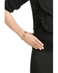 Marc By Marc Jacobs - Metallic Disc-o Happy House Cuff Bracelet - Gold - Lyst