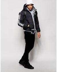 Aape Black By A Bathing Ape Reversible Padded Jacket for men
