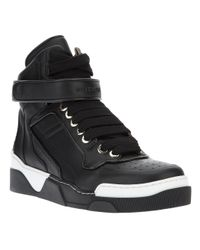 Givenchy Black Hitop Trainer for men