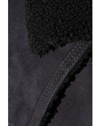 Isabel Marant - Blue Clayne Shearling Jacket - Lyst