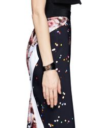 Givenchy | Black Shark Tooth Double Wrap Bracelet | Lyst
