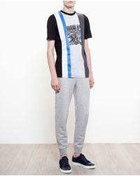 Lanvin Multicolor Tiger Print T-shirt