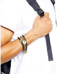 Love Bullets Gray Lovebullets Multi Bullet Bracelet for men
