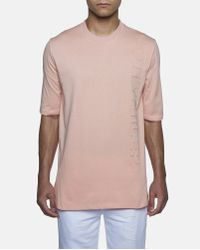 Cottweiler Pink Pure Printed T-shirt for men