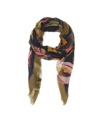 Vince Camuto | Blue Free Floral Quad Scarf | Lyst