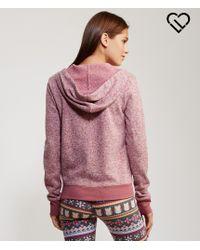 Live Love Dream | Purple Lld Coziest Sweater Fleece Full-zip Hoodie | Lyst