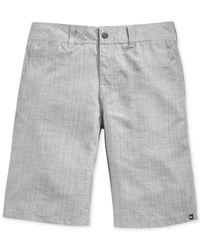 Quiksilver | Gray Wet Block Hybrid Shorts for Men | Lyst