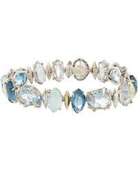 Alexis Bittar Fine - Midnight Blue Topaz Marquis Tennis Bracelet for Men - Lyst