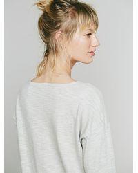 Free People | Natural X Cp Shades Womens Knit Midi Dress | Lyst