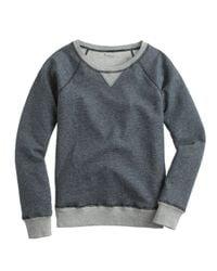 J.Crew - Gray Weekend Sweatshirt - Lyst