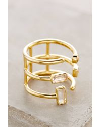 Elizabeth and James | Metallic Sol Ring | Lyst