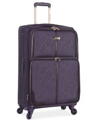 "Nine West | Purple Closeout! 70% Off Naria 24"" Spinner Suitcase, Only At Macy's for Men 