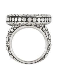 John Hardy | Metallic Oval Dot Ring | Lyst